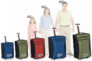 Quelle taille pour une valise cabine?